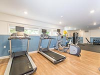 Treadmills and Elliptical at Rockport Inn & Suites