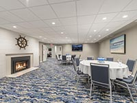 Nautical Themed Meeting Room or Banquet Room at Rockport Inn & Suites