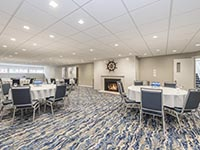 Wide Angel Shot of Nautical Theme Banquet or Meeting Room at Rockport Inn & Suites