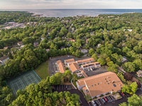aerial rockport inn suites property rockport ma