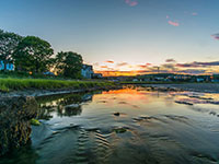 low tide sunset cape ann ma