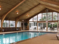 Indoor Swimming Pool and Hot Tub at Rockport Inn & Suites