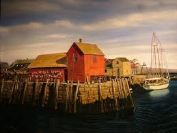 Rockport in the fall